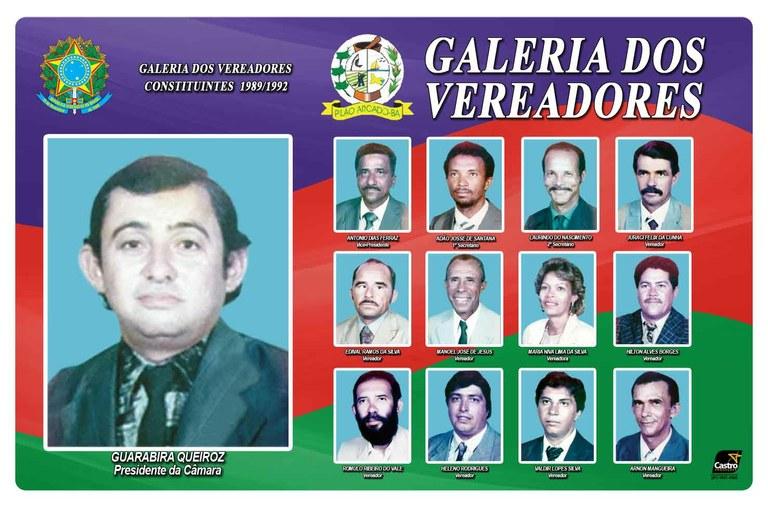 Vereadores Constituintes 1989
