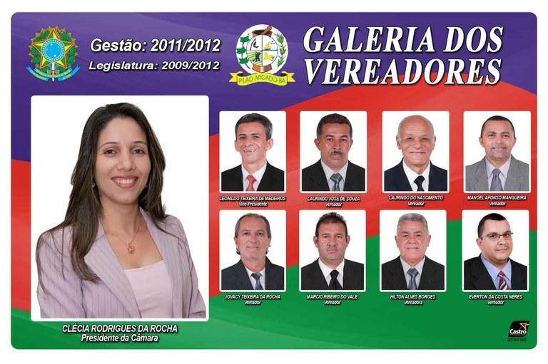 VEREADORES 2009 2012